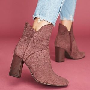 Sophisticated Seychelles x Anthropologie Booties